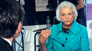PHOTO Former Supreme Court Justice Sandra Day O?Connor spoke to George Stephanopoulos about the Supreme Court, Arizona immigration and her latest project, iCivics.