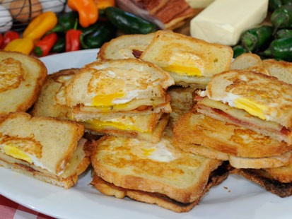 Victoria McCrackens One Eyed Jack Breakfast Sandwich
