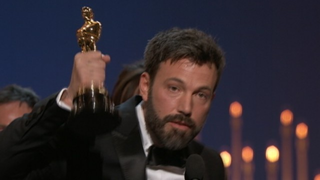 VIDEO: Ben Affleck delivers a moving and funny acceptance speech.