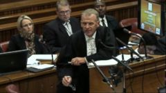 VIDEO: Prosecutor Gerrie Nel questions the Olympian charged with premeditated murder of his girlfriend.