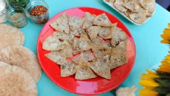 PHOTO:Daphne Oz shares her recipe for pita chips with &quot;Good Morning America.&quot;