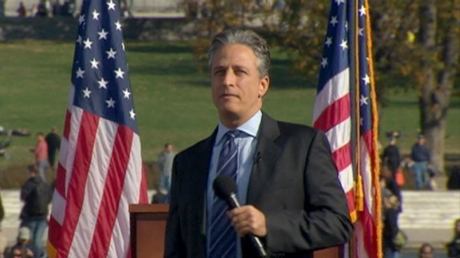 VIDEO: Jon Stewart Makes the Keynote Speech at the Rally to Restore Sanity