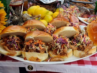 Sunny Andersons Pulled Pork Sandwiches