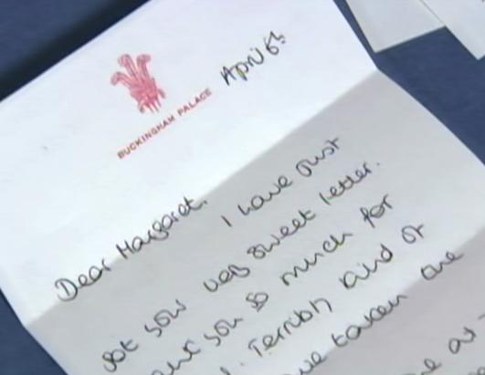 Sold! Princess Diana's Letters for Sale