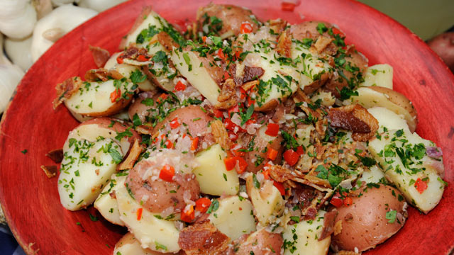 Emerils Red Bliss Potato Salad with Crispy Bacon RecipeABC News