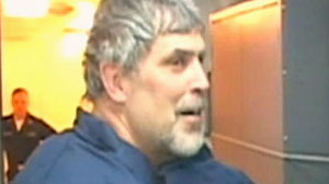 Richard Phillips after being rescued