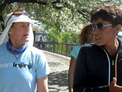 VIDEO: Robin Roberts Runs for Hope