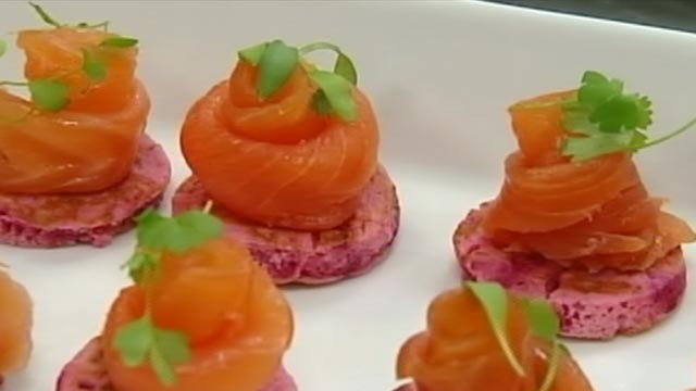 Madhus service style royal wedding food welcome to www for Waitrose canape selection