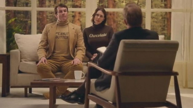 "Peanut butter and chocolate go to ""cup therapy"" in this Big Game spot."