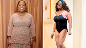 "Sherri Shepherd reveals her bathing suit body on ""The View."""