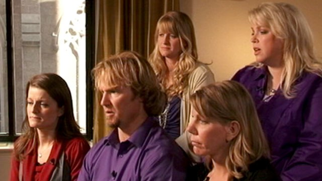 PHOTO: The polygamist family featured on TLC's reality show, 'Sister Wives,' said the criminal investigation into their lifestyle was a factor in their move.