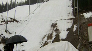 Theres just one week to go before the 2010 Winter Olympics in Vancouver, British Columbia, but the biggest sport in town right now is predicting the weather.