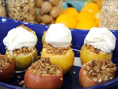Easiest-Ever Baked Stuffed Apples