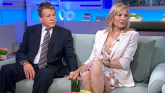 "PHOTO: Tatum and Ryan O'Neal shown on ""Good Morning America,"" June 16, 2011."