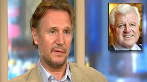 PHOTO Actor Liam Neeson shares his memories of Sen. Ted Kennedy on ?Good Morning America.?