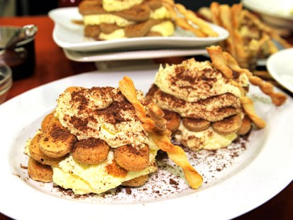 Fabio Viviani shares his grandmother's tiramisu.
