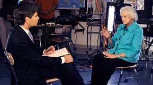 PHOTO Former Supreme Court Justice Sandra Day OConnor spoke to George Stephanopoulos about the Supreme Court, Arizona immigration and her latest project, iCivics.