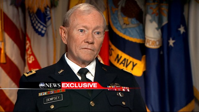 VIDEO: Gen. Martin Dempsey: Embassy Closings Due to Significant Threat Stream