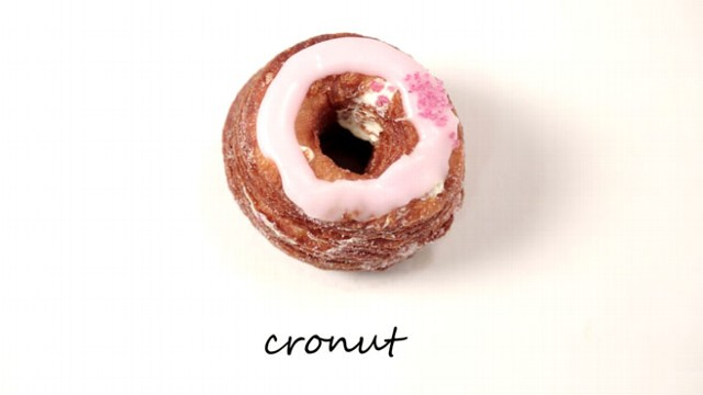 VIDEO: World, meet The Cronut