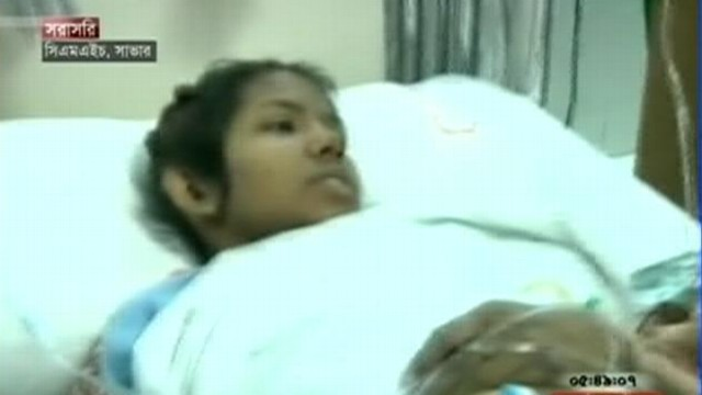 Video: Woman Survives 17 Days in Bangladesh Factory Rubble