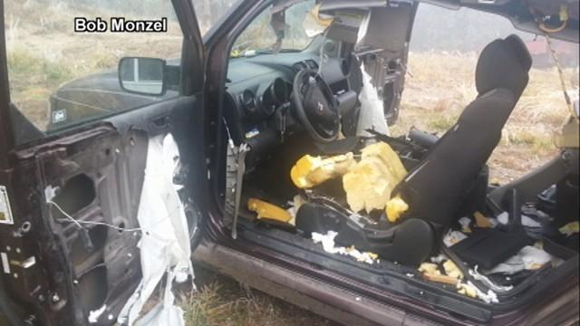 mama bear cubs destroy colorado family 39 s car video abc news. Black Bedroom Furniture Sets. Home Design Ideas
