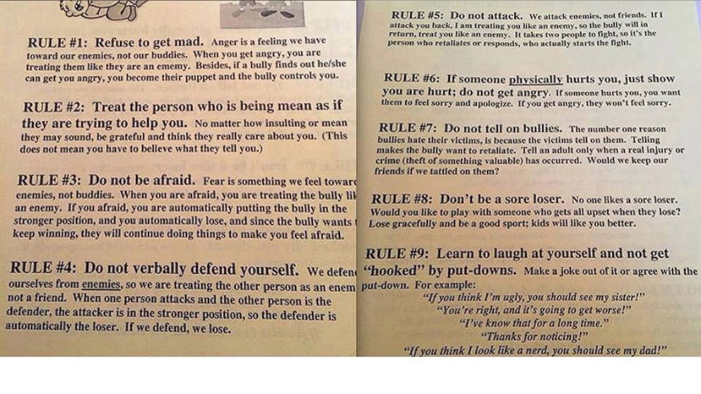 VIDEO: Officials at a Nebraska grade school are apologizing for a flyer with questionable advice.
