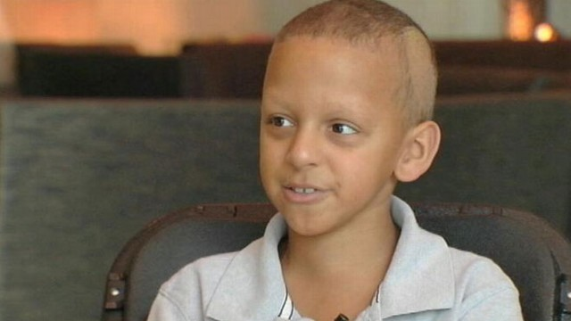 VIDEO: Trevor Sims realized his dying wish by starting a food drive in Baton Rouge, La.