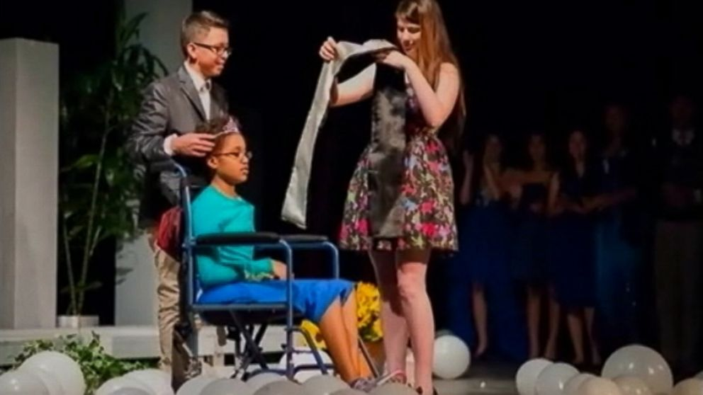 Kennedy Brown, 15, also received an honorary degree from her Texas high school.