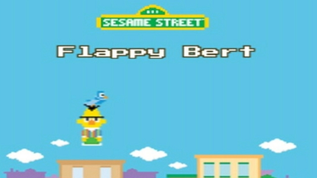 "VIDEO: The ""Flappy Bert"" game is a parody of the recently deleted app."