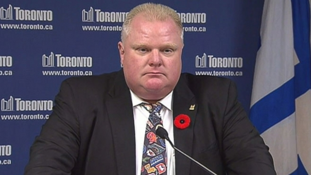 "Toronto mayor spoke with a D.C. radio show about the ""young guys"" recent raw-in with the law."