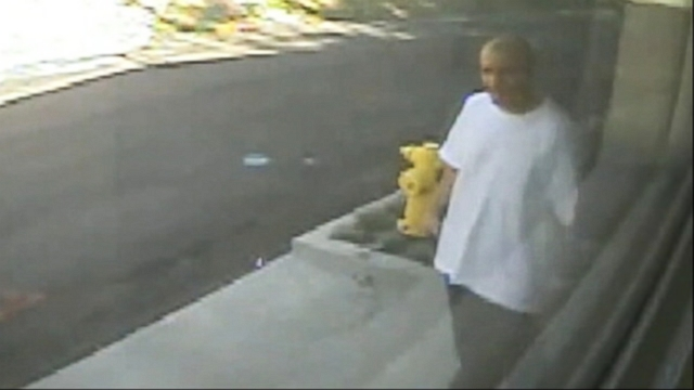 VIDEO: LAPD has released surveillance footage of a man suspected in a string of home burglaries.