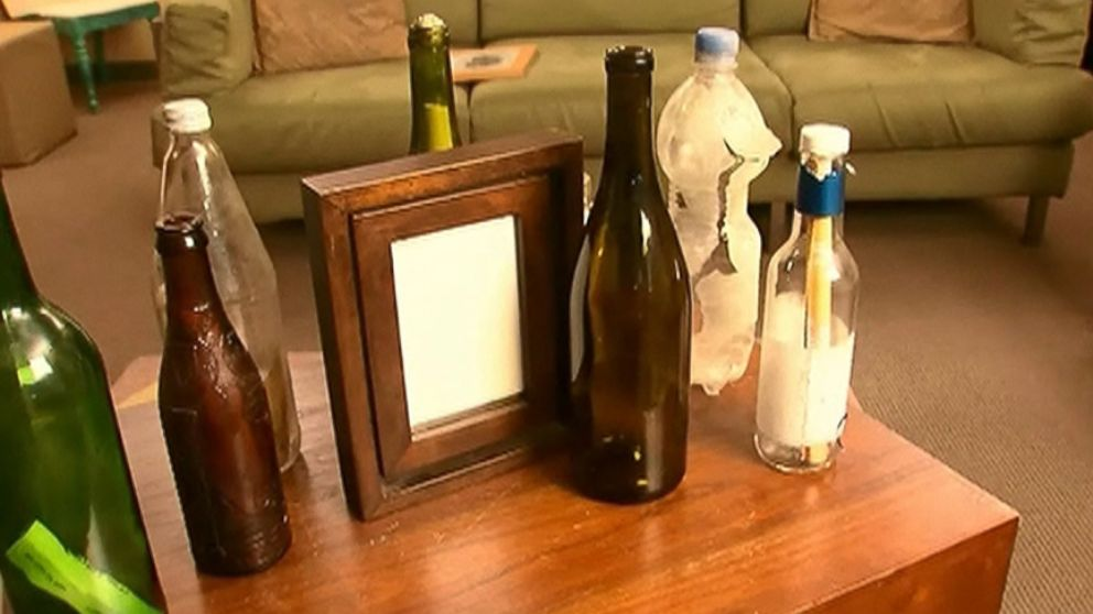 Clint Buffington, 29, of Utah, found the bottle that John Buckel, 79, of California, threw into the ocean.