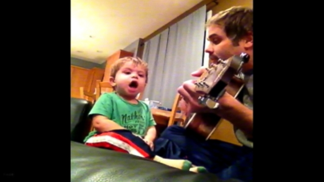 VIDEO: Mike Brownell and his 2-year-old son, Wallace, have become a hit on YouTube.