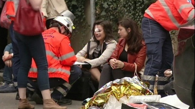 Video: Prague Explosion Injures Dozens