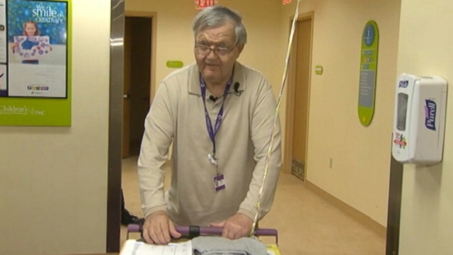VIDEO: Albert Lexie has donated more than $200K in tips to families in need at Childrens Hospital in Pittsburgh.