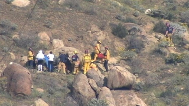 VIDEO: The man is recovering from dehydration after his experience on Californias Mount Rubidoux.
