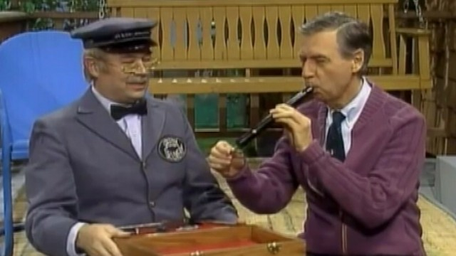 VIDEO: Mister Rogers sings in a musical mash-up produced by PBS.