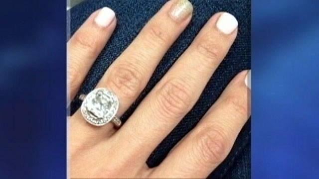 VIDEO: Racquel Clotiers $23,000 ring was accidentally sold by her husband at a neighborhood garage sale.