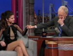 VIDEO: Selena Gomez jokes about Justin Bieber to David Letterman.