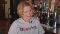 VIDEO: Chrisi Hemp received a $1,000 tip in time to pay for her daughters mounting medical bills.