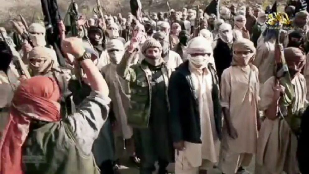 VIDEO: The leader of al Qaedas Yemen affiliate is shown addressing dozens of apparent militants.