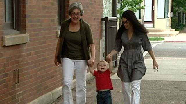 VIDEO: Kristine Casey gave birth to her own grandson because of her daughters struggles with infertility.