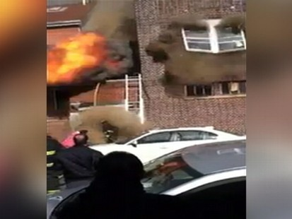 Giant Backdraft Explosion Caught on Tape