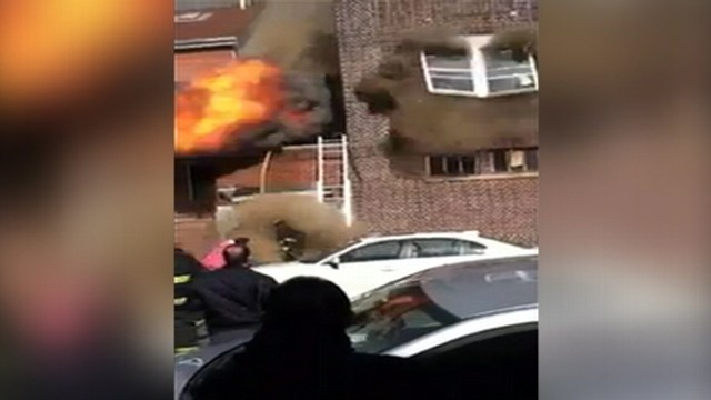 Video: Giant Backdraft Explosion Caught on Tape