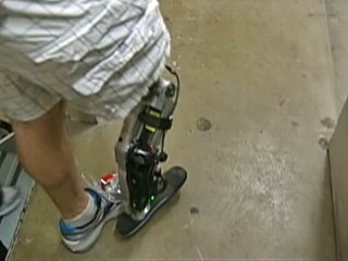 Watch: Man Climbs Chicago Skyscraper With Bionic Leg