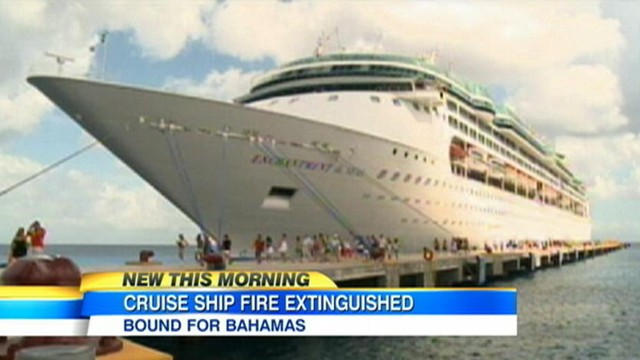 Video: Royal Caribbean Cruise Ship Fire