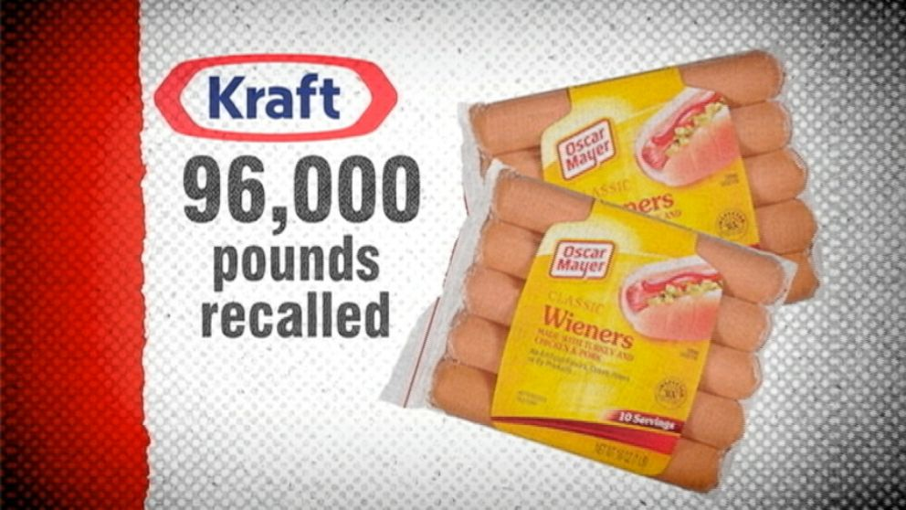 VIDEO: Oscar Mayer recalls 96,000 pounds of hot dogs.