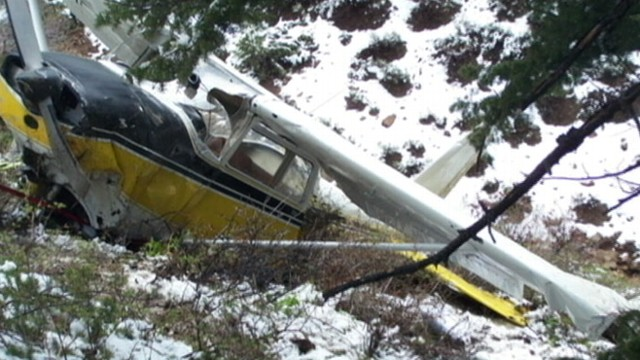 3 Rescued From Plane Crash Site in Remote Idaho