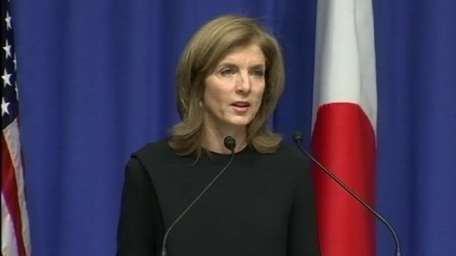 VIDEO: Ambassador Caroline Kennedy criticizes Chinas assertion of a new air defense zone.