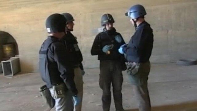 VIDEO: OPCW is currently trying to eliminate Syrias stockpile of chemical weapons.